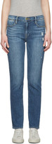 Frame Blue Le High Straight Jeans