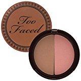 Too Faced Papa Don't Peach Blush & Chocolate Soleil Bronzer Duo