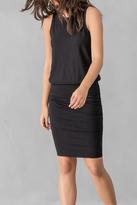 Lilla P Ruched Skirt Tank Dress