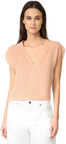Theory Orwin V Neck Top
