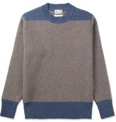 Garbstore Brown Chindit Crewneck Sweater