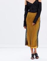 CHRISTOPHER ESBER Sheer Grid Reaction Skirt