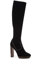 Burberry Relaxed Knee High Platform Boots