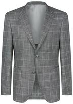 Hugo Boss Check Single Breasted Jacket