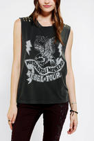 Truly Madly Deeply Pretty Rough Studded Muscle Tee