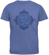 Old Glory Yoga Buddhist Om All Over Heather Adult T-Shirt