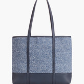 Talbots Packable Straw Tote Bag