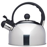 Kitchen Craft Le'Xpress Induction-Safe Whistling Stovetop Kettle, 1.4 Litres - Stainless Steel