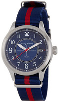 Tommy Bahama Men's Island Scout Canvas Strap Watch