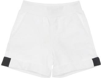 MonnaLisa Minnie Printed Cotton Sweat Shorts