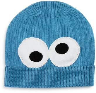 Sesame Street Isaac Mizrahi Loves Unisex Knit Cookie Monster Hat - 100% Exclusive