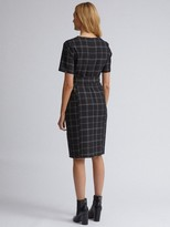 Dorothy Perkins Edit Check Dress- Black