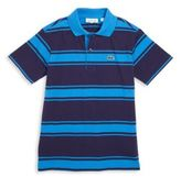 Lacoste Toddler's, Little Boy's & Boy's Striped Cotton Jersey Polo Shirt