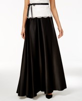 Alex Evenings Petite Pleated A-Line Skirt