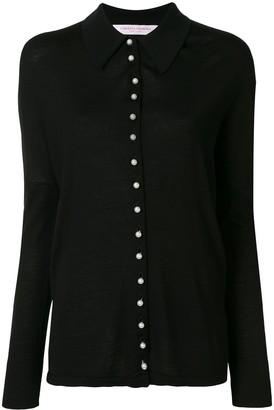 Carolina Herrera Embellished Wool-Blend Cardigan