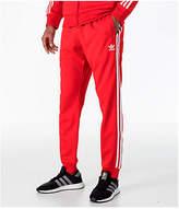 adidas Men's Originals adicolor Superstar Track Pants, Red
