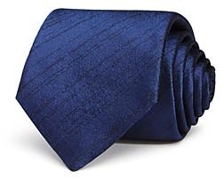 John Varvatos Filmore Sketched Lines Classic Silk Tie
