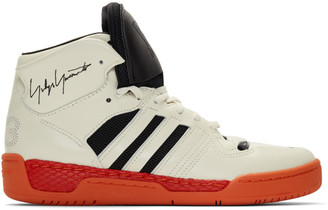 Y-3 Y 3 Off-White and Black Hayworth Sneakers