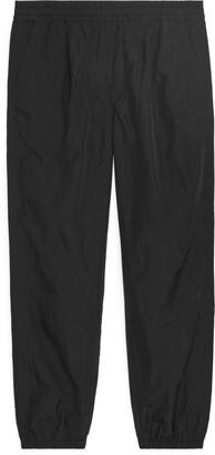 Arket Nylon Drawstring Trousers