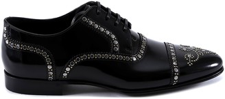 Dolce & Gabbana Studded Lace Up Shoes