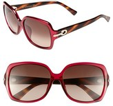 Christian Dior 'My Miss Special Fit' 58mm Sunglasses
