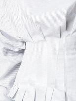 Jacquemus stripe puff blouse