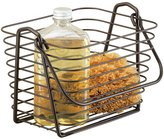 MetroDecor mDesign Bathroom Vanity Organizer Basket for Health and Beauty Products/Supplies, Lotion, Perfume
