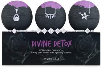 Jewel Within 3-Piece Divine Detox Hidden Jewellery Bath Bomb Set