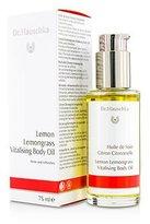 Dr. Hauschka Skin Care Lemon Lemongrass Vitalising Body Oil, Firms and Refreshes, 2.5 Ounce