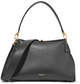 Michael Kors Miranda Leather Shoulder Bag - Black