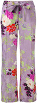 Etro floral flared trousers - women - Silk/Viscose - 40