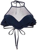 Zimmermann Ruffled Halter Bikini Top