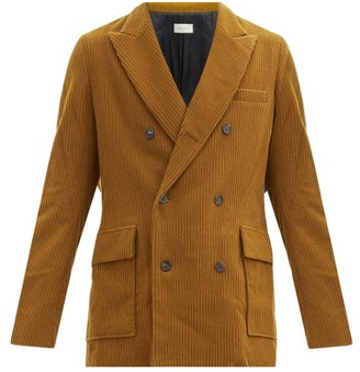 BED J.W. FORD Double-breasted Corduroy Jacket - Brown