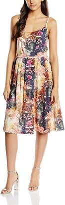 Yumi Women's Sunlight Floral Knee-Length Sleeveless Dress