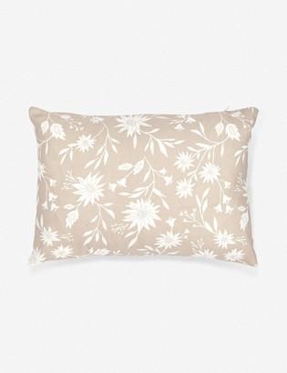 Lulu & Georgia Rylee + Cru Floral Lumbar Pillow
