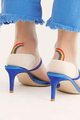 Hansel from Basel Rainbow Brite Sheer Crew Socks