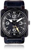 Bell & Ross Men's BR 01-93 GMT 24H Watch-BLACK