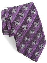 Nordstrom Geometric Silk Tie (X-Long)