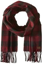 Timberland Men's Buffalo Check Scarf