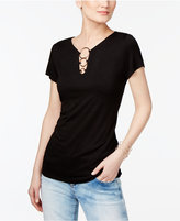 INC International Concepts Embellished Top, Only at Macy's
