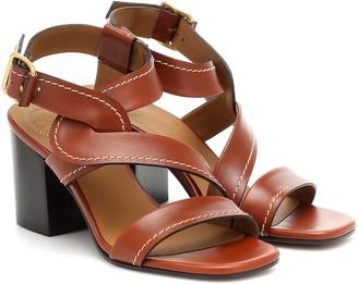 Chloé Candice leather sandals
