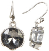 Kenneth Cole New York Black Crystal Drop Earrings