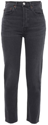 RE/DONE Ultra Stretch High-rise Skinny Jeans