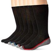 Hanes Men's 6 Pack Ultimate X-Temp Crew Sock