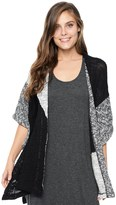 Splendid Lakefront Color Block Poncho