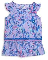 Lilly Pulitzer Toddler's, Little Girl's & Girl's Two-Piece Top & Skirt Set