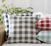 Pottery Barn Gingham Indoor/Outdoor Pillow