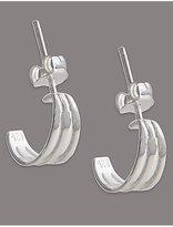 Autograph Sterling Silver Hoop Earrings