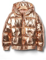 Gap Rose gold puffer