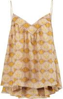 Zimmermann Belle Beatnik printed silk top